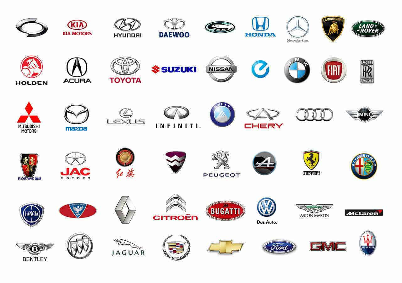 All Car Brands List Logos Company Names History Of Cars