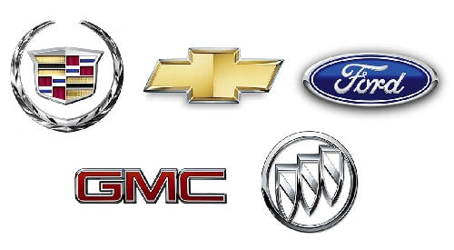 Most Popular American Car Brands Logos