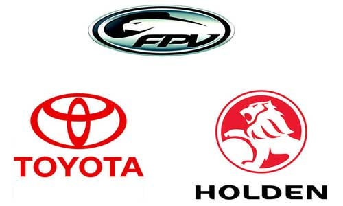 Australian Car Brands Logo Makes