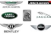 British Car Brands Logo