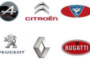 French Car Brands Logo