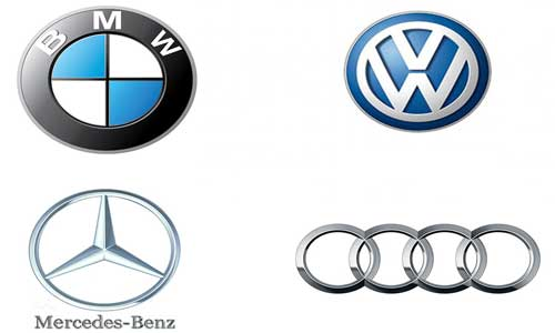 List And Logos Of German Cars