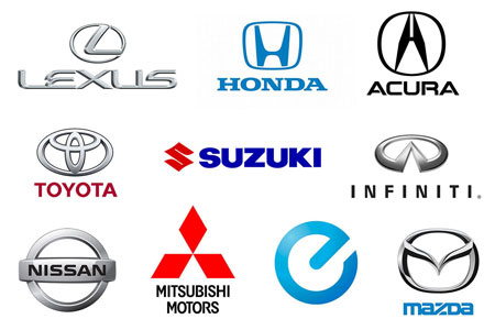 Anese Car Brands Logo