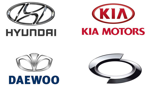 Korean Car Brands Names - List And Logos Of Korean Cars