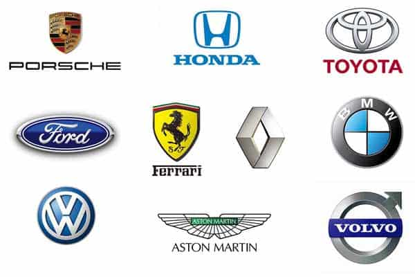 Top 10 Car Brands Logo