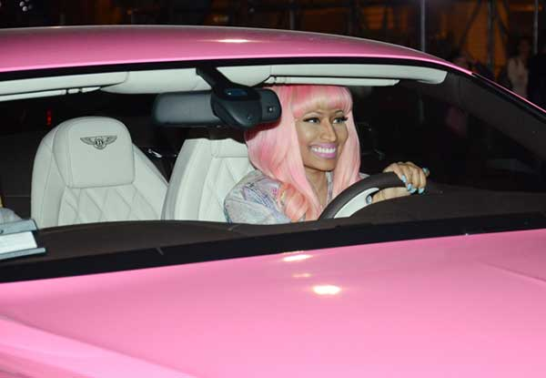Nicki Minaj Pink Bentley
