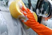 Washing Car With Hand