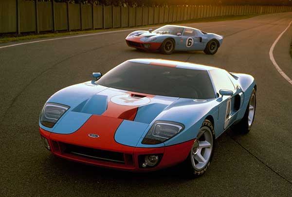 Old Ford GT