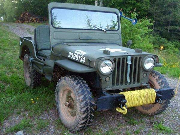 The beginning of Jeep