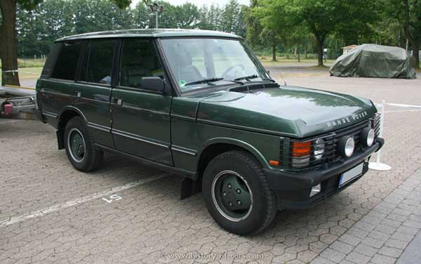 Land Rover after 1985 and onwards