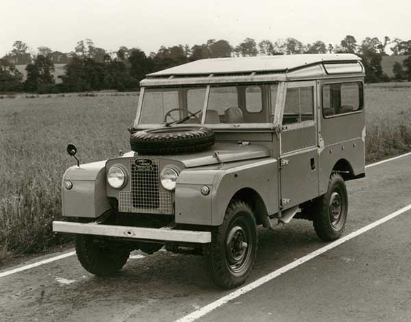 Land Rover in the beginning