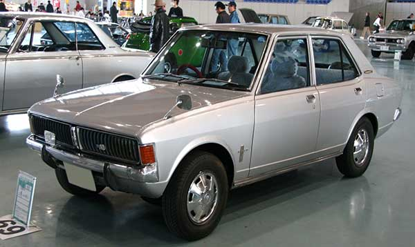 Mitsubishi in 70s and onwards