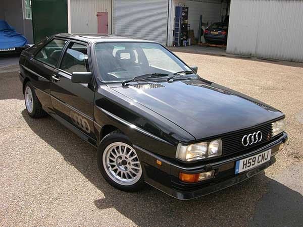 Audi by 1980s
