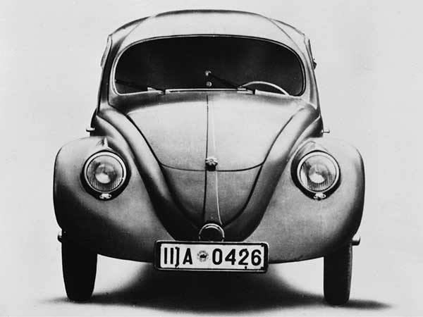 Beginning of the Volkswagen history
