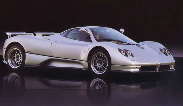 pagani logo, history timeline and list of latest models