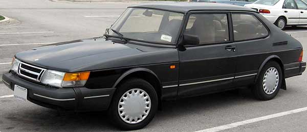 Saab in the 90s