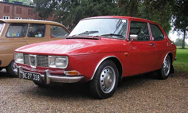Saab in the early 1970s