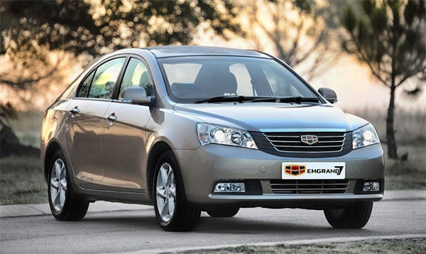 Geely cars today