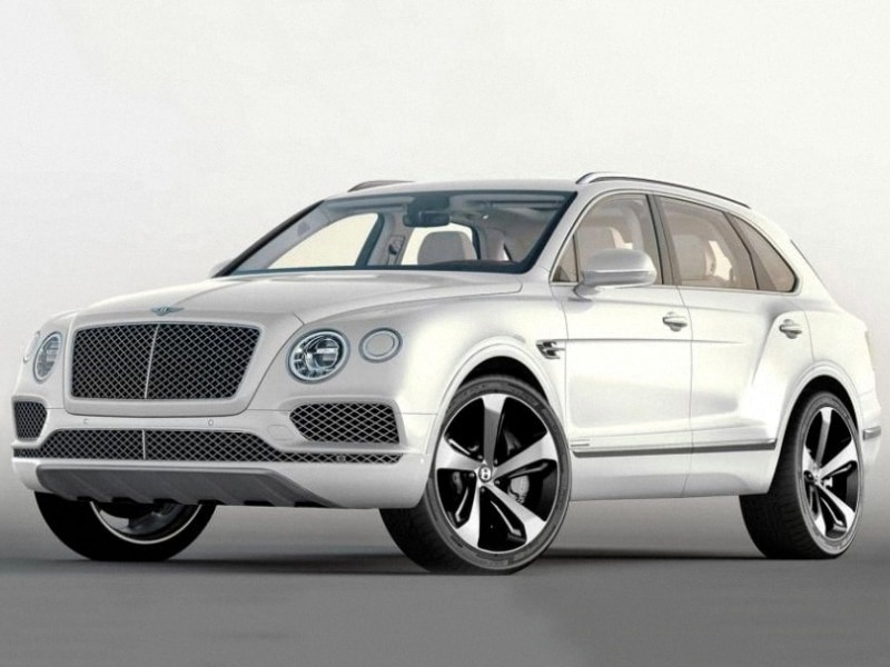 2016 Bentley Bentayga Exterior