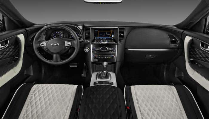 Interior Of 2017 Infiniti Qx70