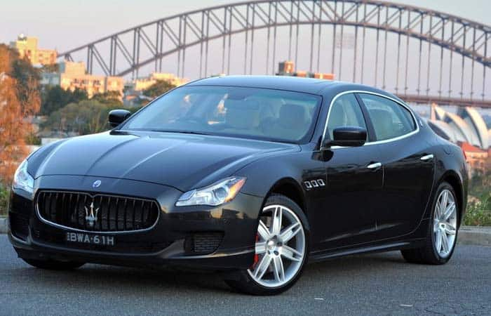 2018 Maserati Quattroporte Review - Global Cars nds